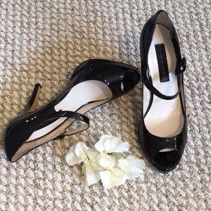 🆕Steven by Steve Madden Peep Toe Patent Heels
